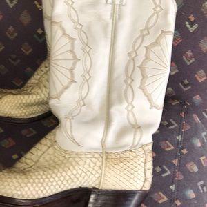 Dan Post Shoes - Gorgeous ⭐️Dan Post Womens Python boots Size 7.5
